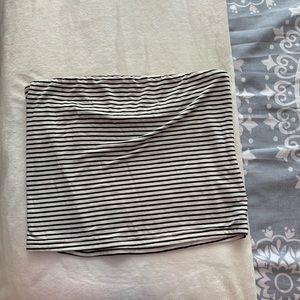 American Eagle striped tube top